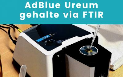 Ureum gehalte in AdBlue – Eenvoudige analyse via FTIR Spectroscopie